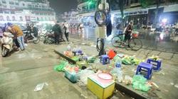 Sau đêm Noel ở Hà Nội: Nhếch nhác và rác ngập tràn