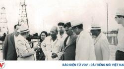 Các bức ảnh quý hiếm về Chủ tịch Hồ Chí Minh thăm mỏ dầu Azerbaijan
