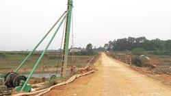 Hương Khê (Hà Tĩnh): Công trình cầu Lộc Yên chưa có tư vấn giám sát, vẫn thi công rầm rộ
