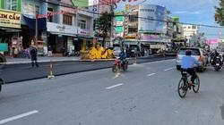 Quảng Ngãi: Đường nội đô đang đẹp, cuối năm lại cho thảm nhựa