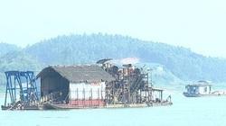 Phú Thọ: Tiếp tục cho khai thác cát, sỏi trên sông Lô và sông Chảy