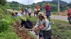 Khi nhân dân Vân Hồ đồng lòng xây dựng nông thôn mới
