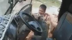 CSGT tát tài xế xe tải cố tình bỏ chạy 7km ở Bắc Giang: Thông tin mới bất ngờ