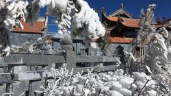 Sa Pa rét đậm, đỉnh Fansipan khả năng xuất hiện băng tuyết