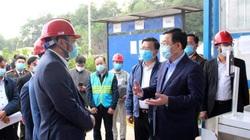 Bí thư Thành ủy Vương Đình Huệ kiểm tra đột xuất Khu Liên hợp xử lý rác thải Sóc Sơn