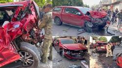 Phú Thọ: Tai nạn liên hoàn, nhiều người thương vong