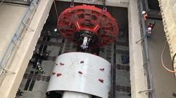 Hà Nội: Lắp ráp tấm khiên đào khổng lồ 60 tấn, thi công hầm tuyến đường sắt Nhổn - Ga Hà Nội