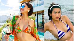 """Mỹ nhân cao 1,75m đẹp như """"chị em sinh đôi"""" với Tăng Thanh Hà mặc bikini quyến rũ hút mắt"""