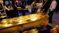 Quan tài được đúc bằng vàng hiếm có bí ẩn nhất thế gian,10 năm vẫn chưa được mở!