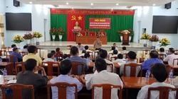 Lãnh đạo huyện ủy Bù Đăng (Bình Phước) đối thoại với nông dân sản xuất kinh doanh giỏi