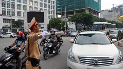 Hôm nay Hà Nội hạn chế phương tiện trên nhiều tuyến đường