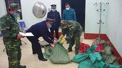 Bắt vụ vận chuyển 300 kg thịt lợn chuẩn bị vượt biên sang Trung Quốc