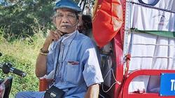 Cụ ông 80 tuổi mỗi ngày đi hơn 50km bán quần áo giá 0 đồng