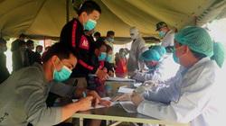 Bắc Kạn: Tiếp nhận thêm 148 công dân Việt Nam trở về từ Trung Quốc