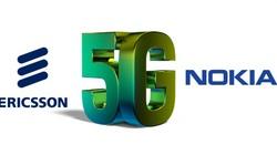 Cổ phiếu Ericsson và Nokia tăng nhanh khi Mỹ gợi ý mua lại cổ phần
