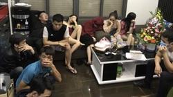 Triệt phá tụ điểm ăn chơi trong khách sạn, 43/55 thanh niên dương tính với ma túy.