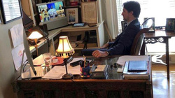 Thủ tướng Canada tự cách ly ở nhà như thế nào?