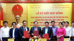 Lạng Sơn: Ký kết triển khai dự án khu đô thị mới gần 2.900 tỷ đồng