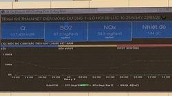 Nhiệt điện Mông Dương 1 công khai trực tuyến thông số quan trắc môi trường