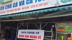 Đà Nẵng cho phép bán đồ ăn mang về