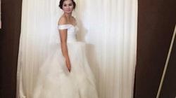 Hoa khôi bóng chuyền Kim Huệ mặc áo cưới, lấy chồng lần thứ 2?