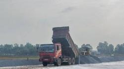 """Tráo """"đá trộn"""" thay đá loại I đưa vào cao tốc Trung Lương – Mỹ Thuận"""