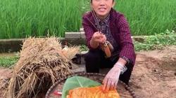 Bà Tân Vlog chế biến món ăn trên nền đất mất vệ sinh khiến dân mạng nổi sóng tranh cãi