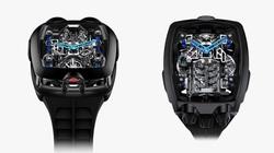 Đồng hồ siêu sang được trang bị động cơ của Bugatti