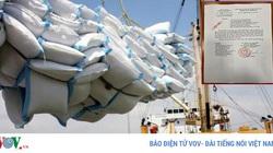 Xuất khẩu gạo, phát hiện hàng loạt tờ khai không có giá trị