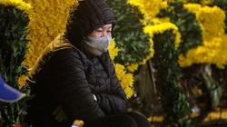Chợ hoa lớn nhất miền Bắc ế ẩm, người bán buồn bã co ro vì lạnh