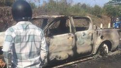 Vụ thi thể trong xe cháy: Bí thư xã khai giết cháu vợ để trốn nợ, trục lợi bảo hiểm