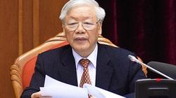 Trung ương sẽ cho ý kiến báo cáo kiểm điểm sự lãnh đạo, chỉ đạo của Bộ Chính trị