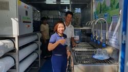 Mừng quá! 6.000 hộ dân vùng hạn mặn tỉnh Bến Tre được dùng nước ngọt