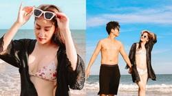 Tuổi U40, Khánh Thi vẫn mặc bikini đẹp hút mắt khiến Phan Hiển đắm đuối không rời