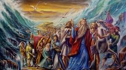 """Có thật """"Moses đã tách nước ở biển Đỏ cứu dân Do Thái""""?"""
