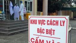 Người bán hàng rong vào khu điều trị cho bệnh nhân Covid-19 bán hàng