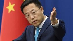 """Bắc Kinh """"nổi đóa"""" vì dự luật trừng phạt của Mỹ"""