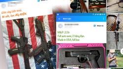 """Chợ súng hơi, """"chó lửa"""" công khai trên mạng xã hội"""
