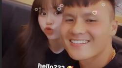 Lần đầu tiên Quang Hải thoải mái hẹn hò với bạn gái mới