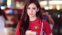 Đơ người vì vẻ đẹp 'chim sa cá lặn' của fan M.U xinh nhất Thái Lan