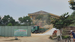 Đà Nẵng: Nhiều bãi tập kết cát công khai hoạt động sai quy định