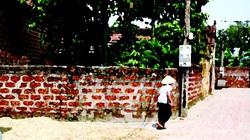 Truyện dự thi: Bức tường rào