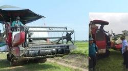 Phú Thọ: Chủ máy bất bình vì muốn gặt lúa phải nộp 2,5 triệu đồng/máy cho hợp tác xã