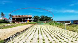 """Quảng Ngãi: Đối xử """"lạ"""" của chính quyền huyện Lý Sơn với các dự án bỏ hoang"""