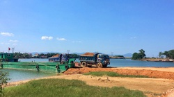 Quảng Bình: Dự án nâng cấp đê, kè 164 tỉ đồng đang dùng đất không rõ nguồn gốc