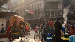 Khu chợ cổ ở Kathmandu