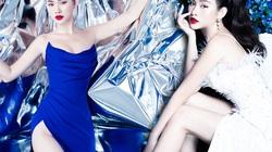 Người đẹp Việt sở hữu vòng 3 trên 100cm diện váy cắt xẻ mạo hiểm
