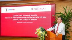 Agribank nâng cao tầm hợp tác với Tổng Công ty Điện lực Miền Bắc