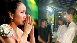 Ốc Thanh Vân nghẹn lòng, Lương Thuỳ Linh xót xa viếng bé trai tử vong vì cây phượng bật gốc