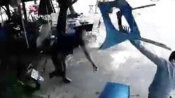 Chủ quán cà phê bị đánh tới tấp vì 2 đĩa cơm